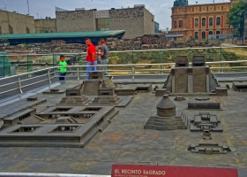 Zocalo: Was vom Reich übrigblieb: Templo Mayor