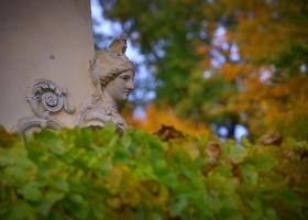 Schlosspark Glienicke: eine Göttin