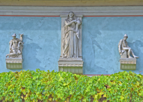 Schlosspark Glienicke: wie in Italien