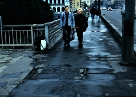 Hochbrücke mit Börse