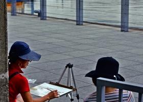 Yokohama_zeichnende-Rentner_1.3