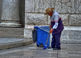 Mexiko-Stadt: Kein Krümel bleibt liegen