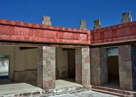 Teothihuacan: Palast des Quetzal-Papalotl