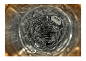 münchen minimal: Bierkrug von oben (Hofbräuhaus)