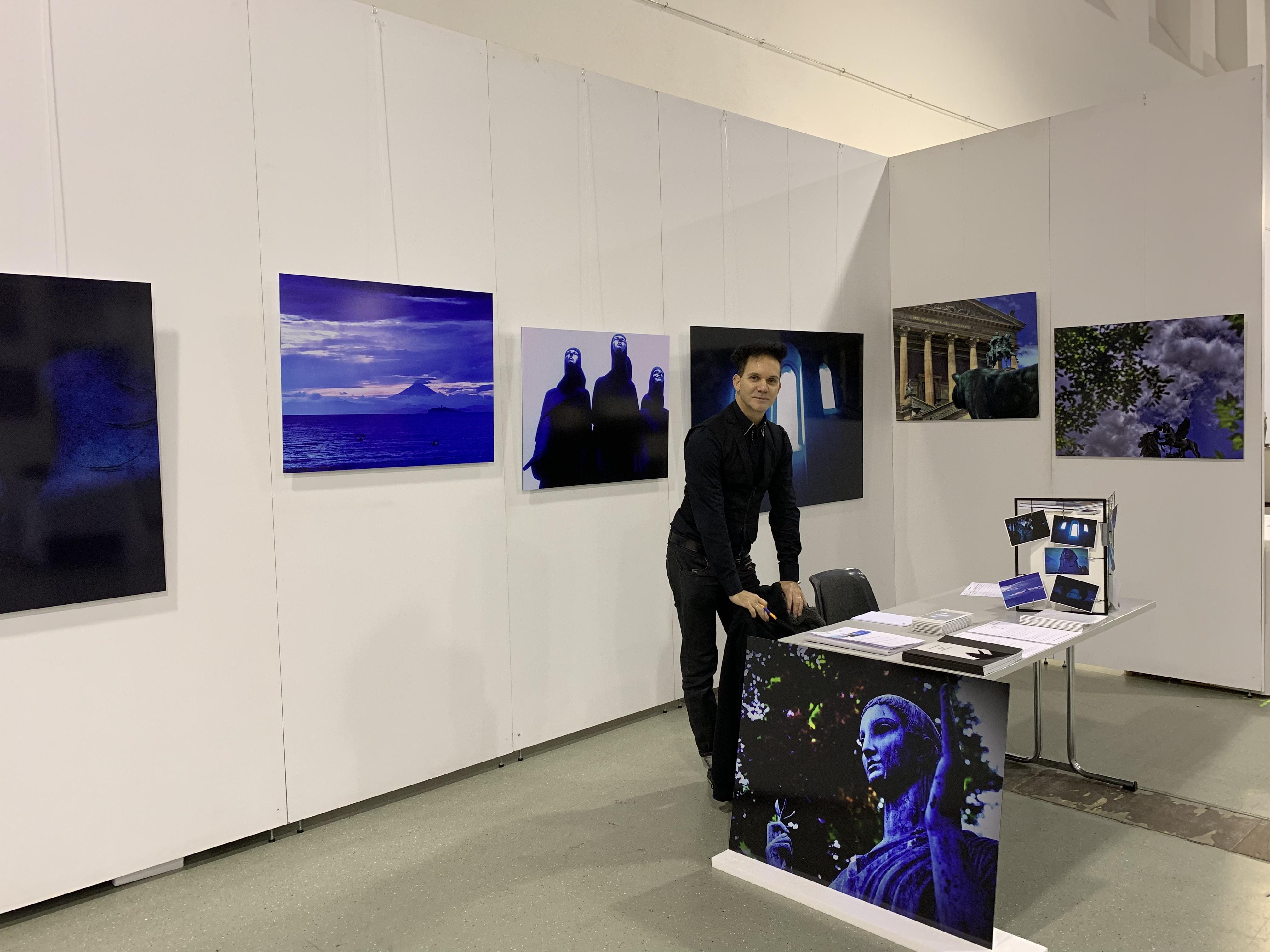Andreas Bromba Messestand: Neue Art Dresden