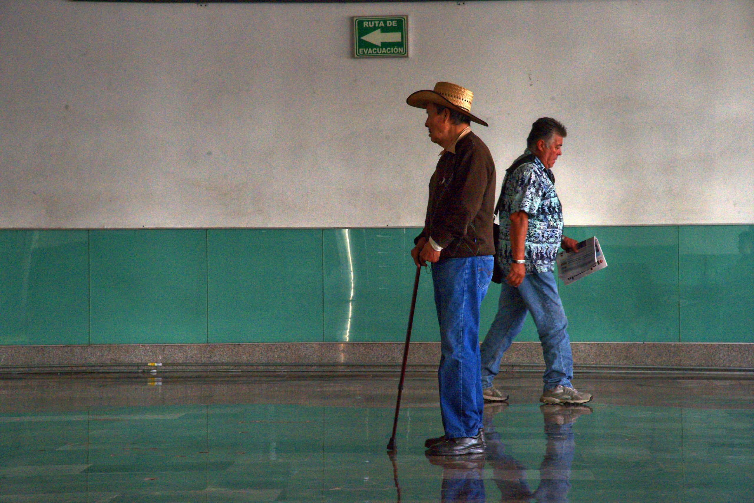 Mexiko-Stadt: Im Busbahnhof