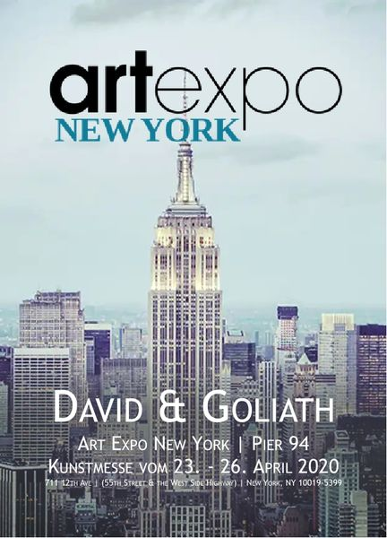 New York: ArtExpo mit Fotografien von Andreas Bromba